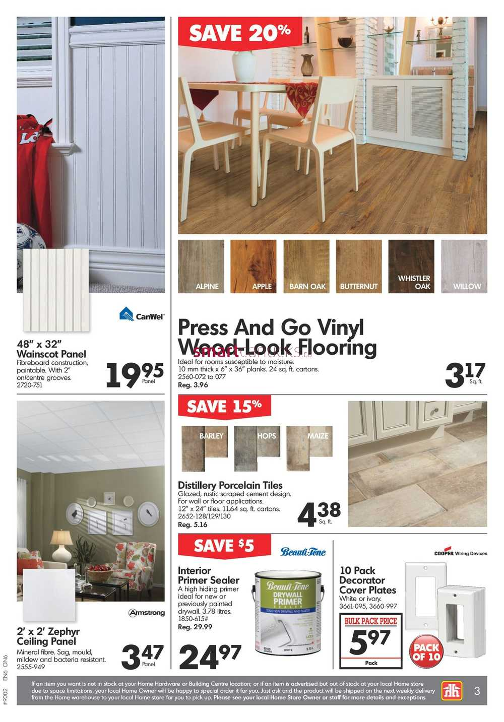 Home Hardware Building Centre (ON) Flyer February 15 to 22