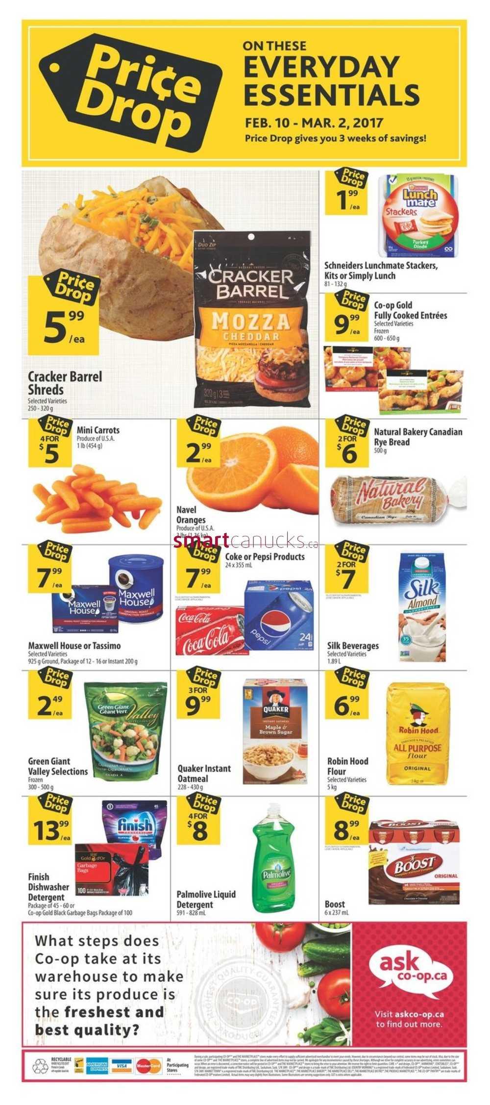 Co Op Food Store Flyer