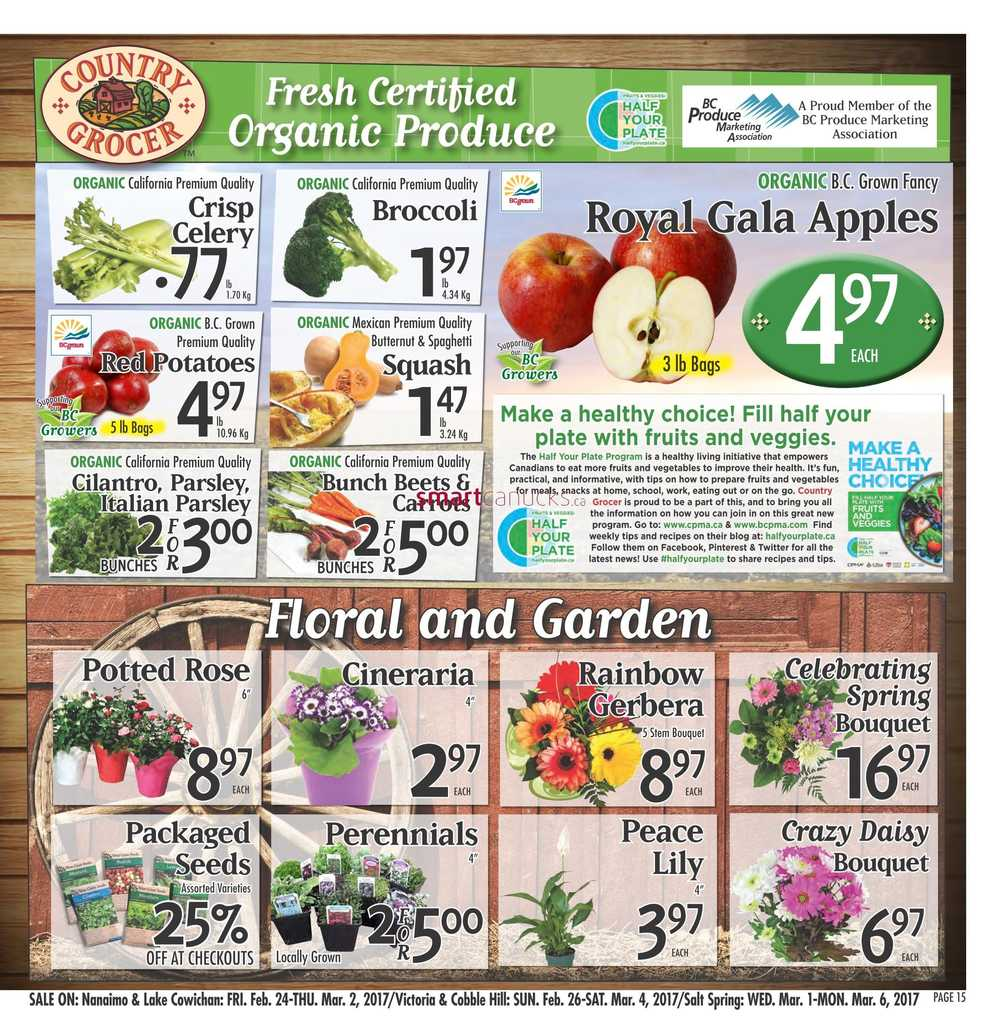 Country Grocer Flyer February 24 To March 2
