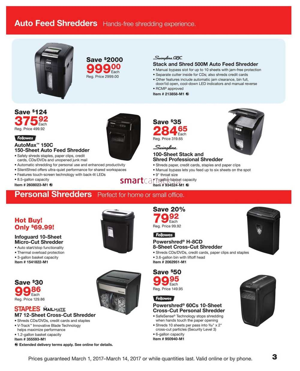 Staples Business Flyer March 1 To 14