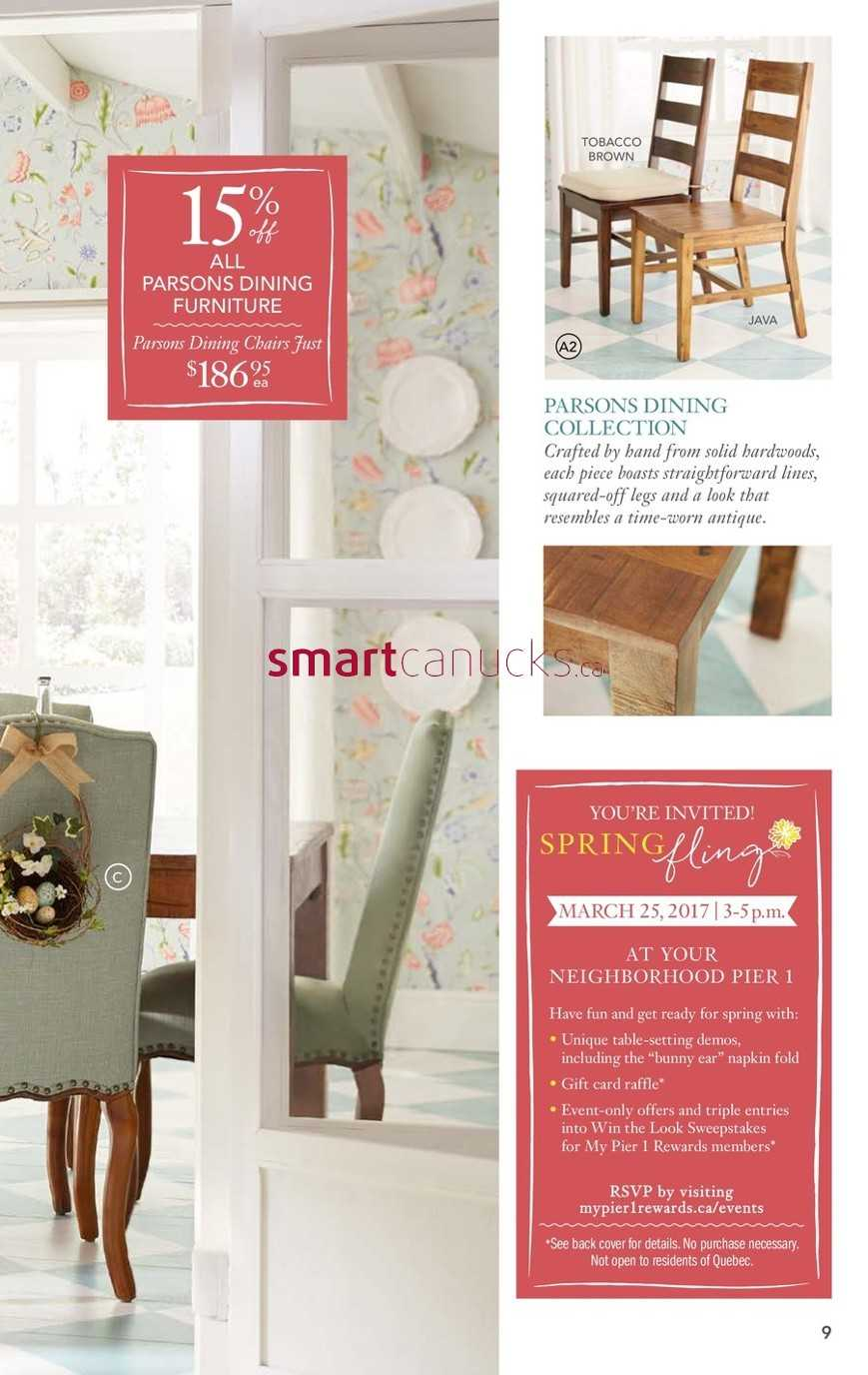 1  2   Next     More Pier 1 Imports Flyers. Pier 1 Imports Flyer February 27 to March 26