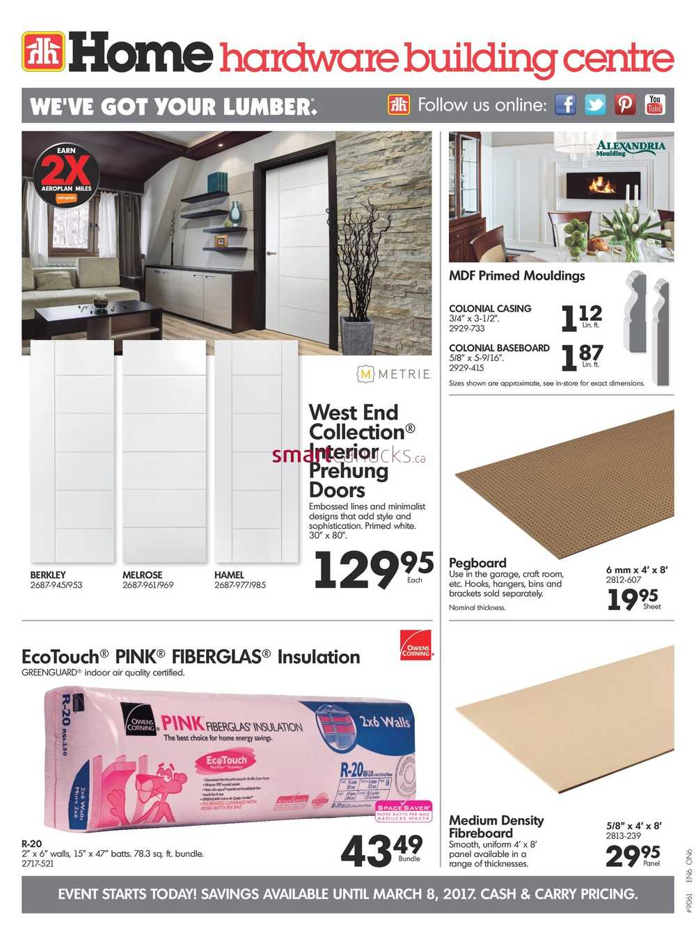 Home Hardware On Flyer March 1 To 8