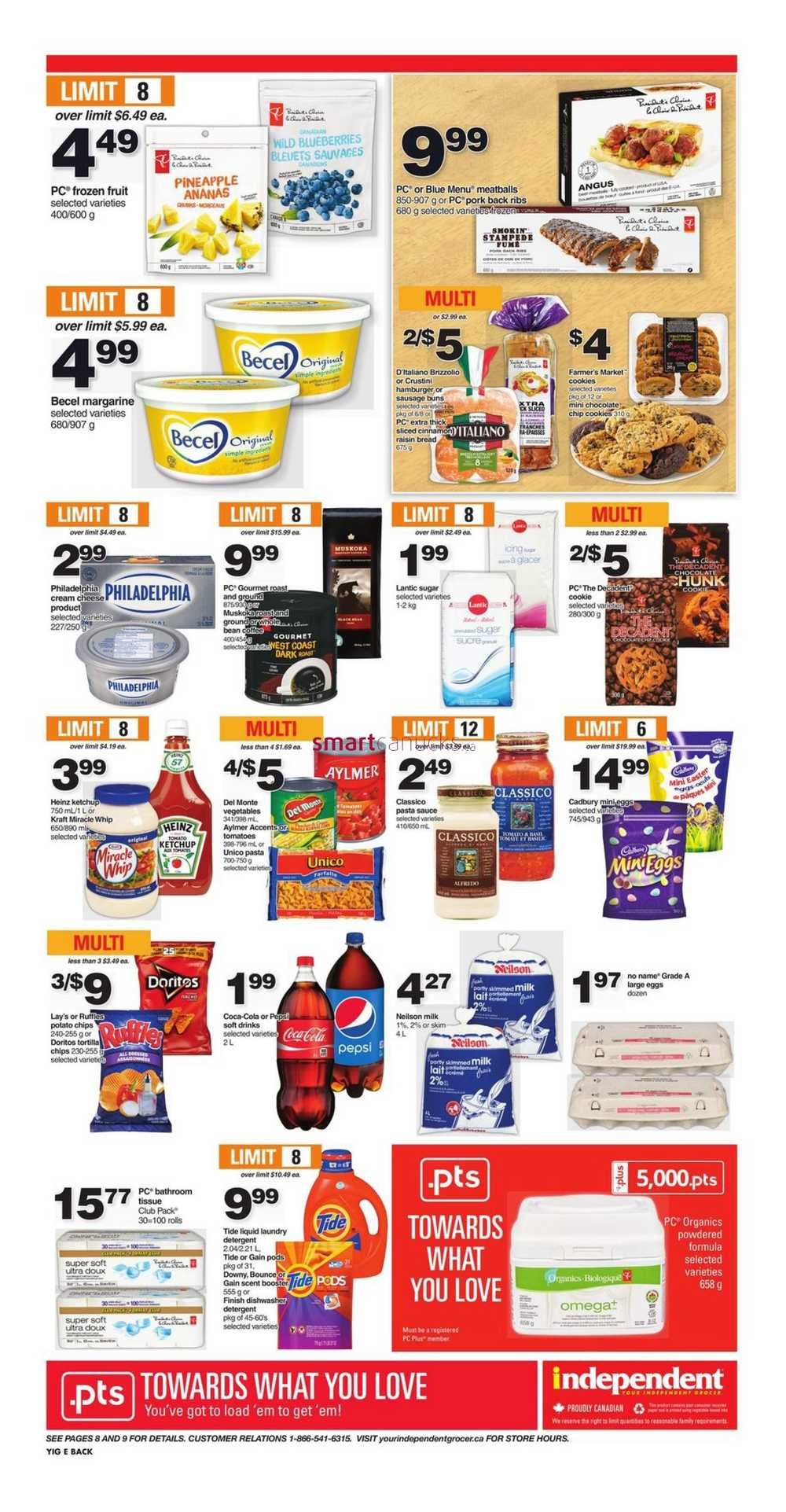 Independent Grocer On Flyer March 2 To 8