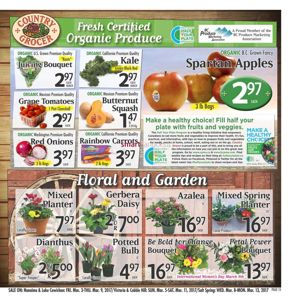 Country Grocer Flyer March 3 To 9