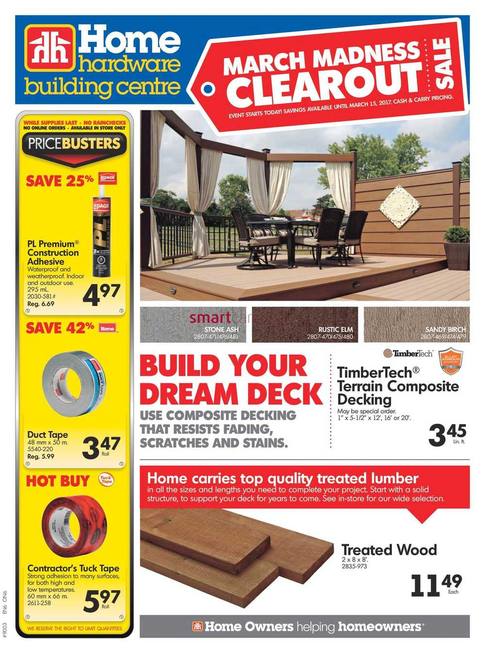 Home Hardware Foyer : Home hardware flyer mississauga