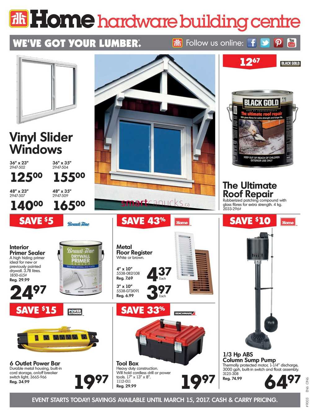 Home Hardware On Flyer March 8 To 15