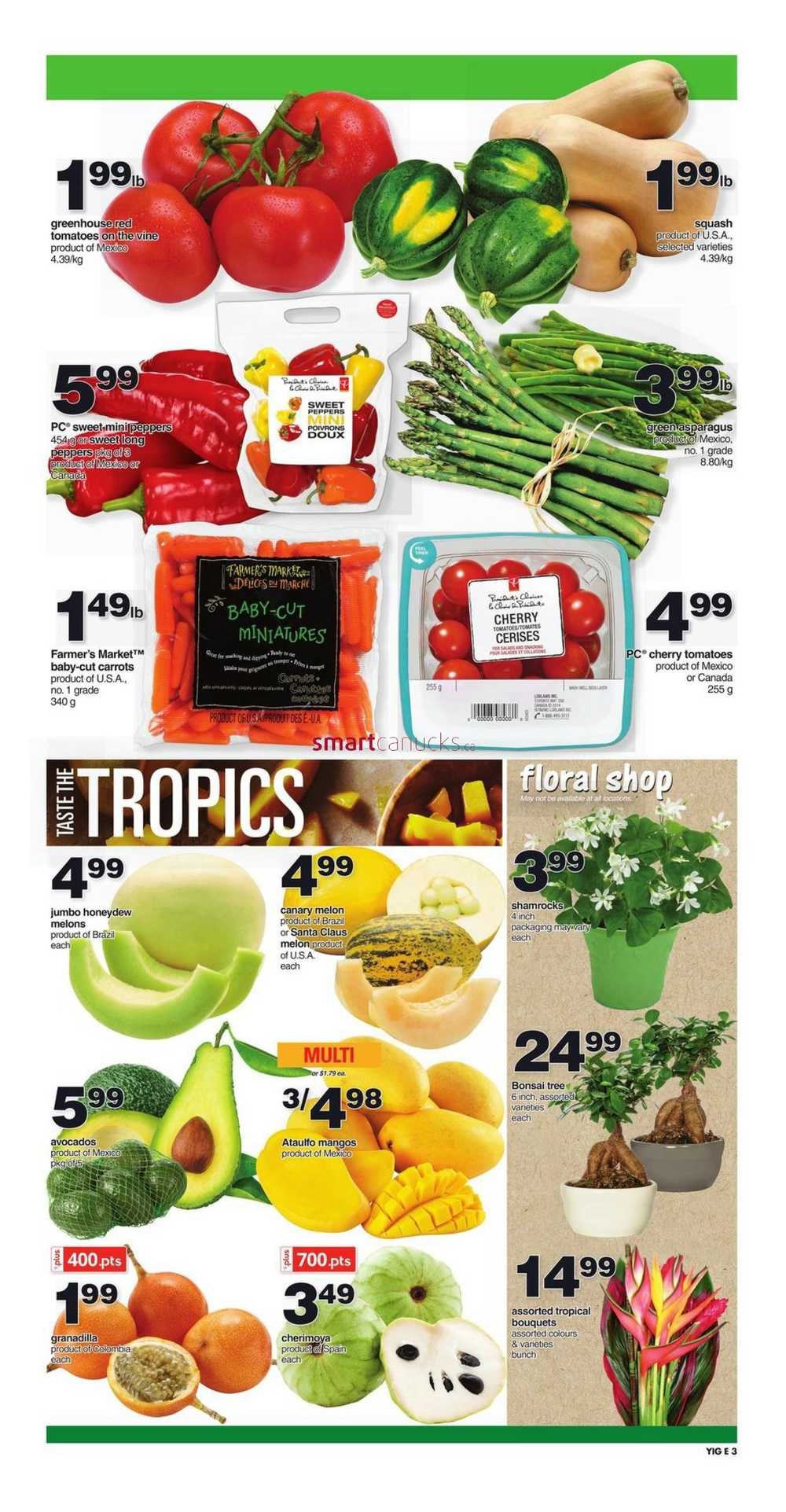 Independent Grocer On Flyer March 9 To 15