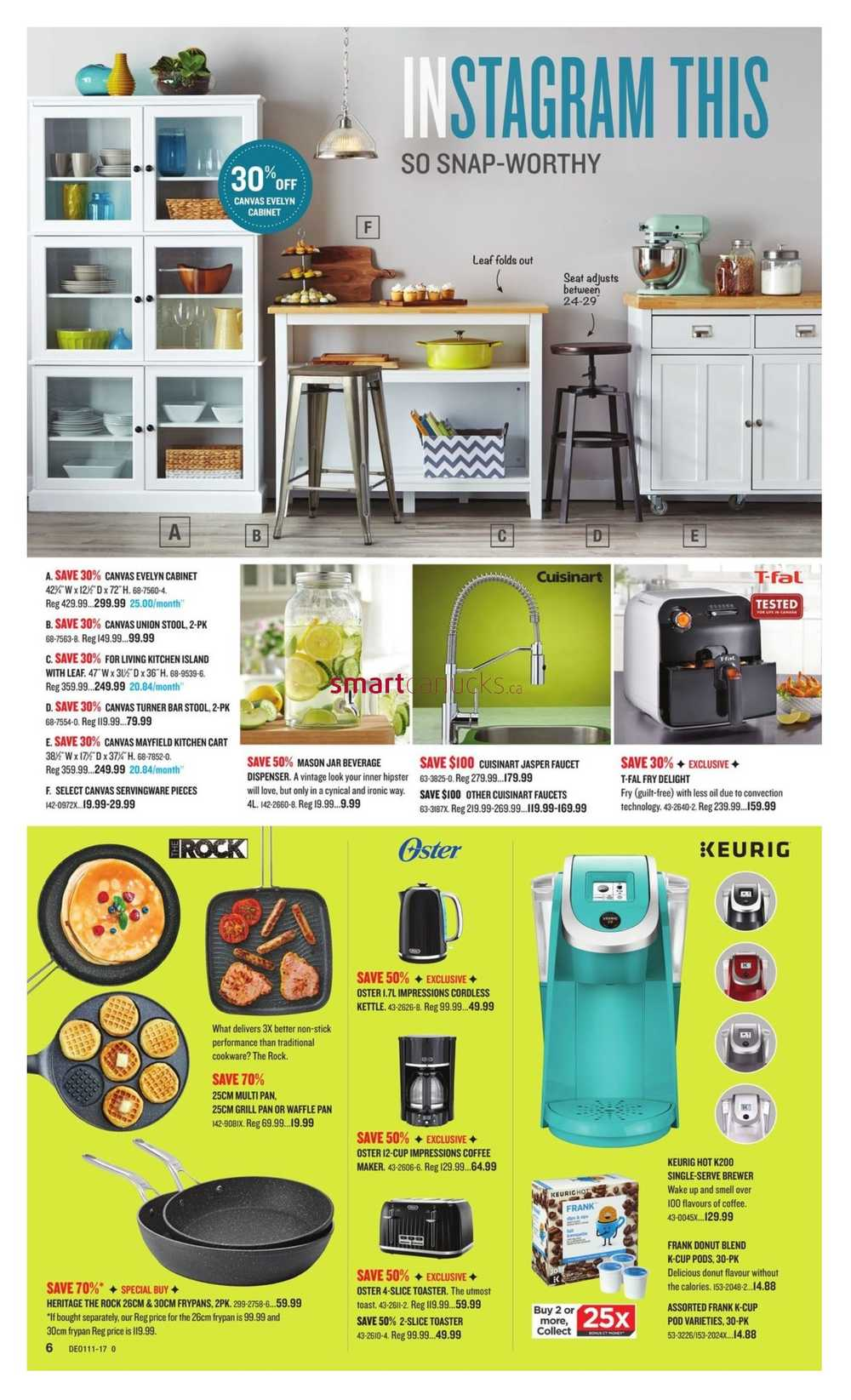 Uncategorized Canadian Tire Kitchen Appliances canadian tire in home catalogue march 10 to 30 simplified view more flyers