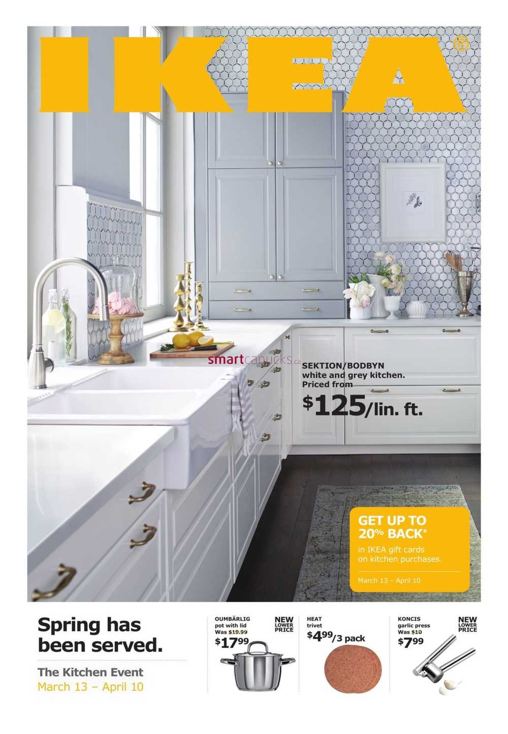 Ikea The Kitchen Event Flyer March 13 To April 10