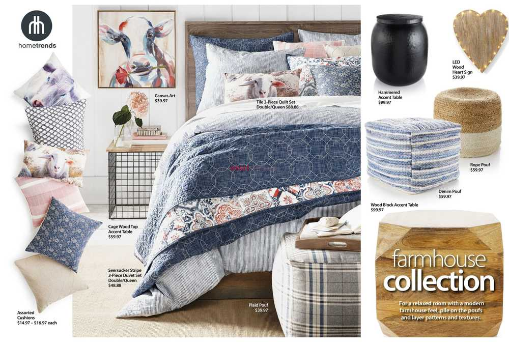 walmart spring summer home lookbook march 7 to may 30