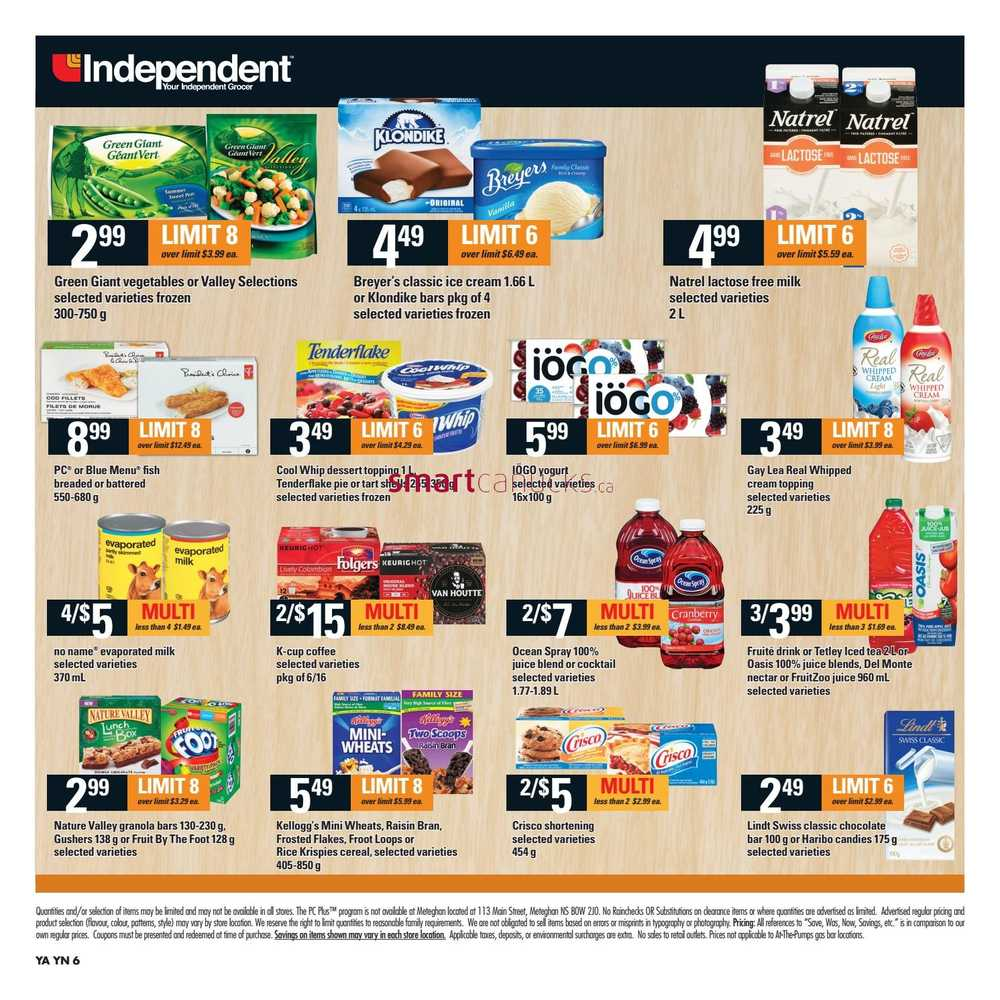 Independent Grocer Atlantic Flyer March 16 To 22