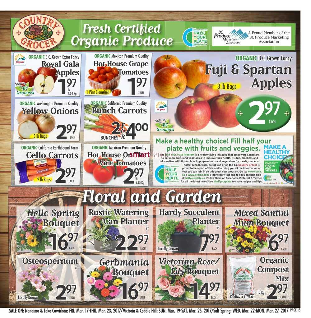 Country Grocer Flyer March 17 To 23
