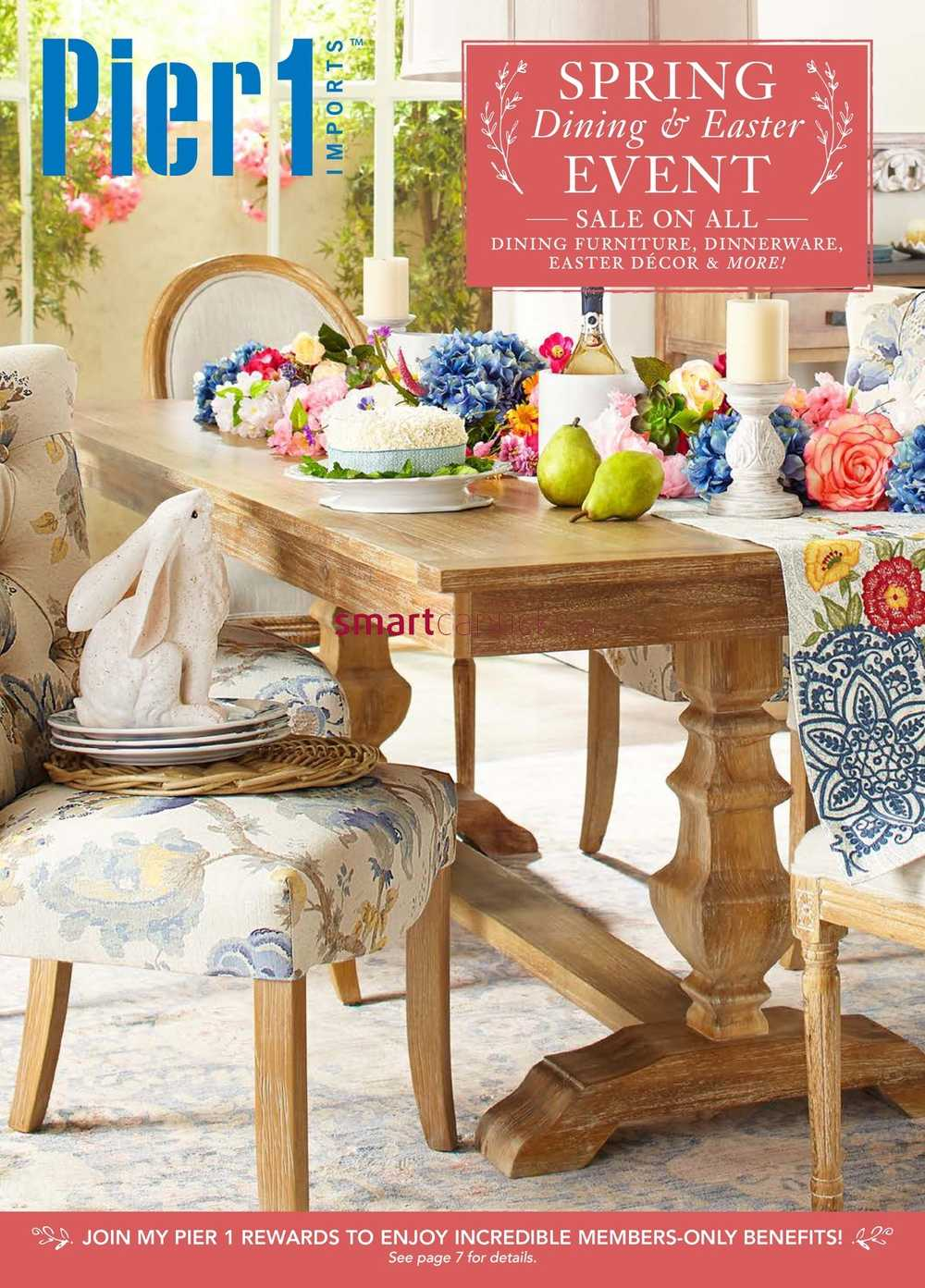 . Pier 1 Imports Flyer March 20 to April 16