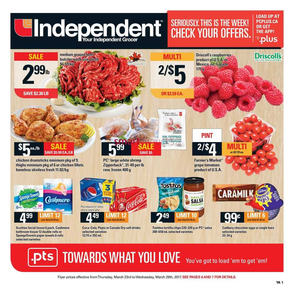 Independent Grocer Atlantic Flyer March 23 To 29