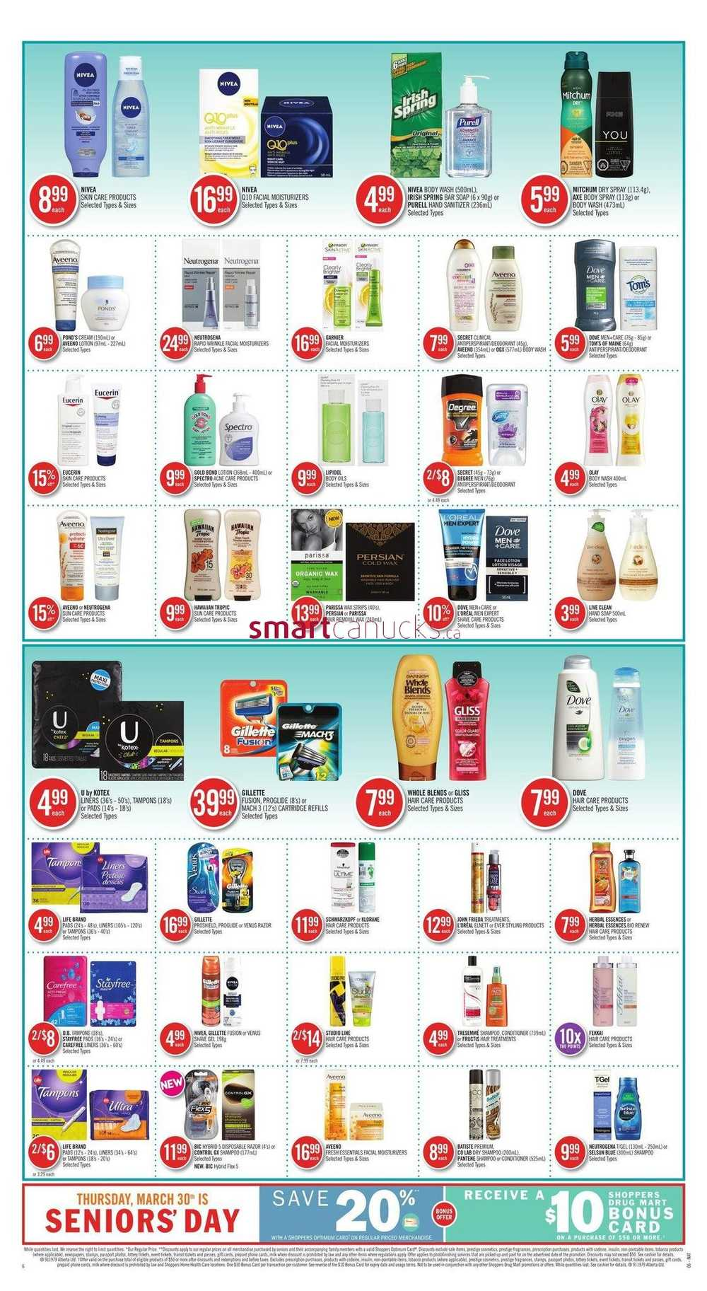 Shoppers Drug Mart (West) Flyer March 25 to 31