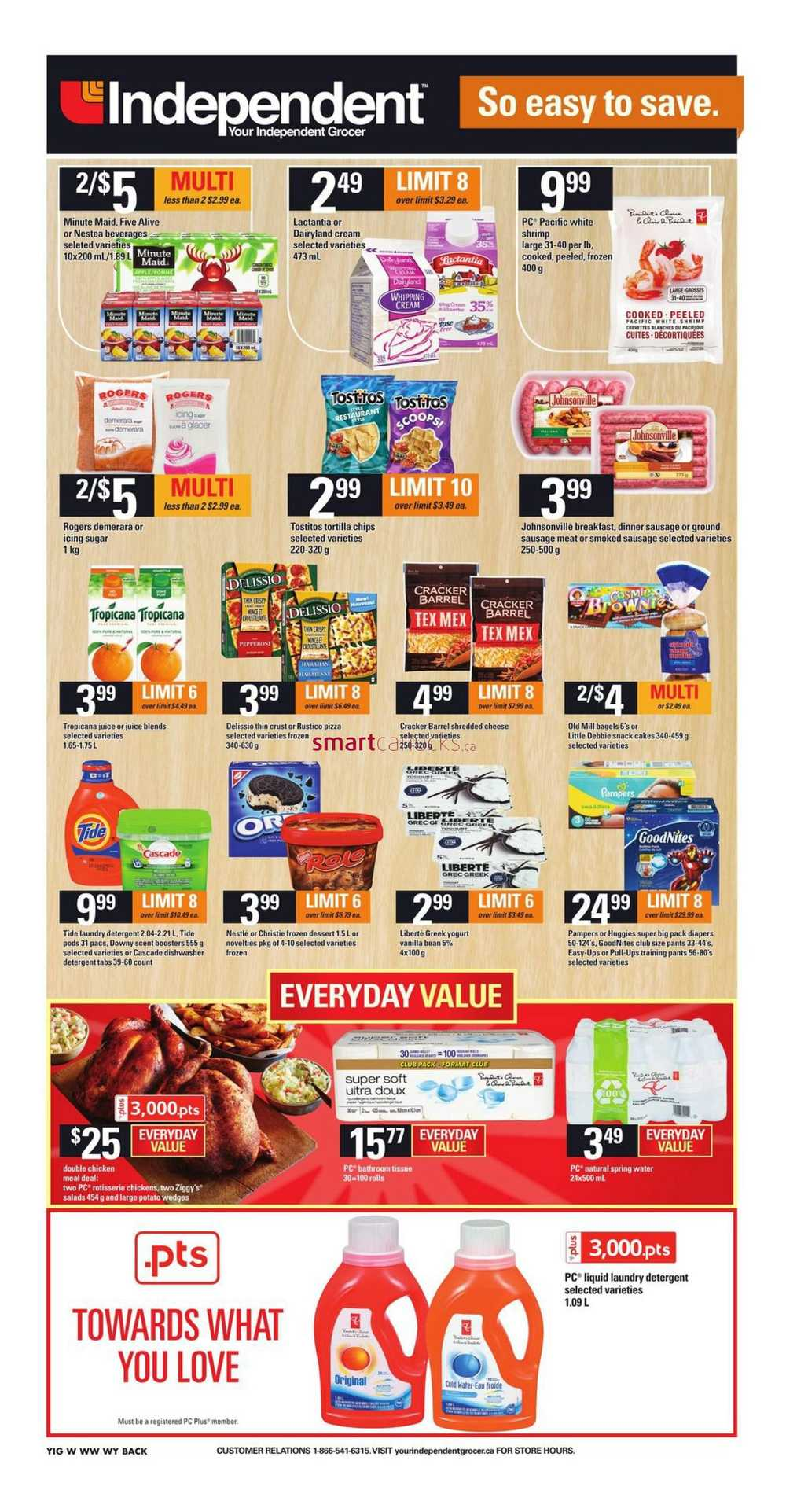 Independent Grocer West Flyer March 24 To 30
