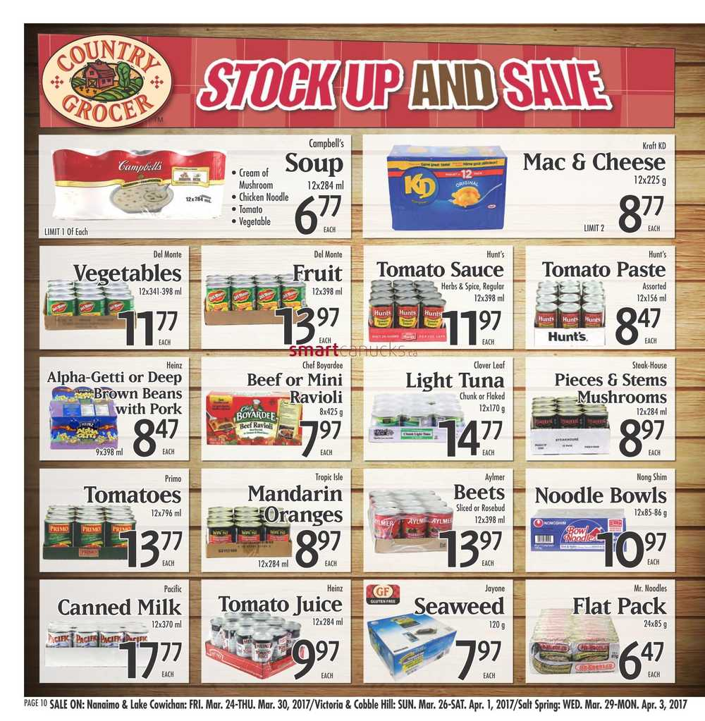 Country Grocer Flyer March 24 To 30