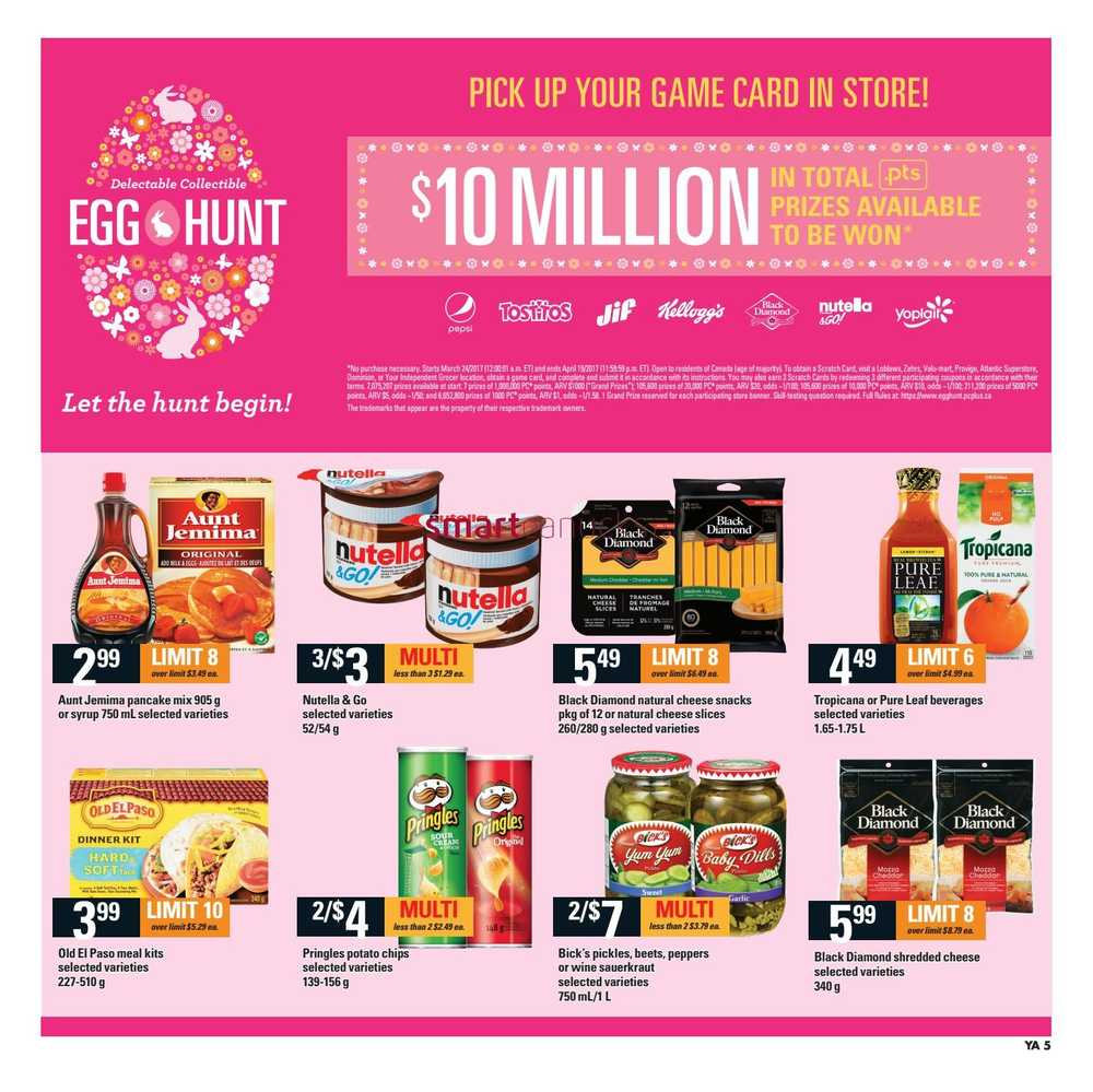 Independent Grocer Atlantic Flyer March 30 To April 5