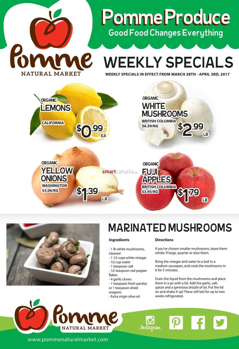pomme natural market flyers pomme natural market flyer 28 to 3