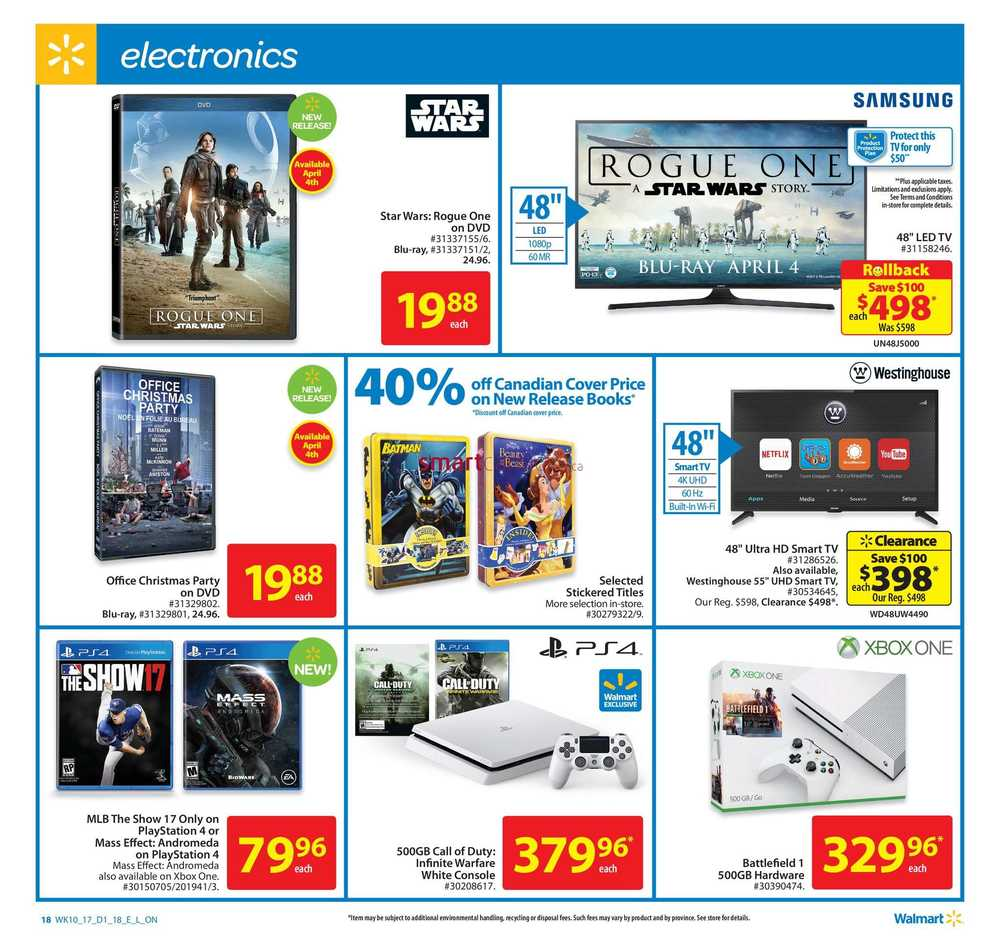 March | 2017 | Walmart Canada Flyers, Coupons & Sales