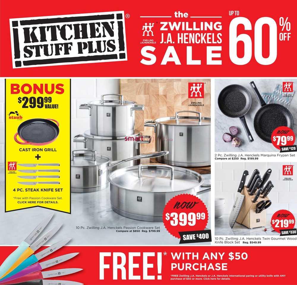 Kitchen Stuff Plus Canada Flyers