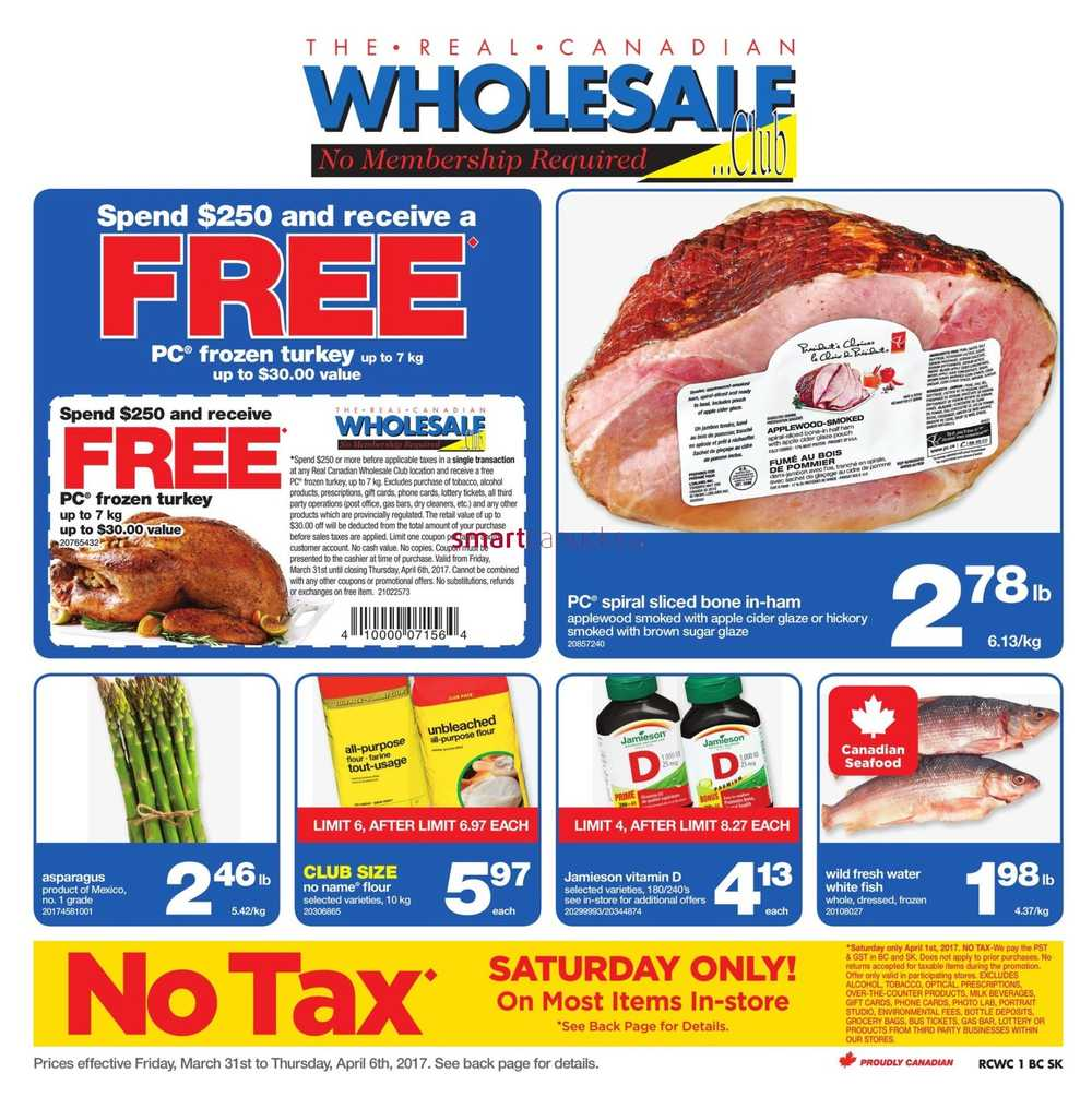 Online offers for Wholesale Club