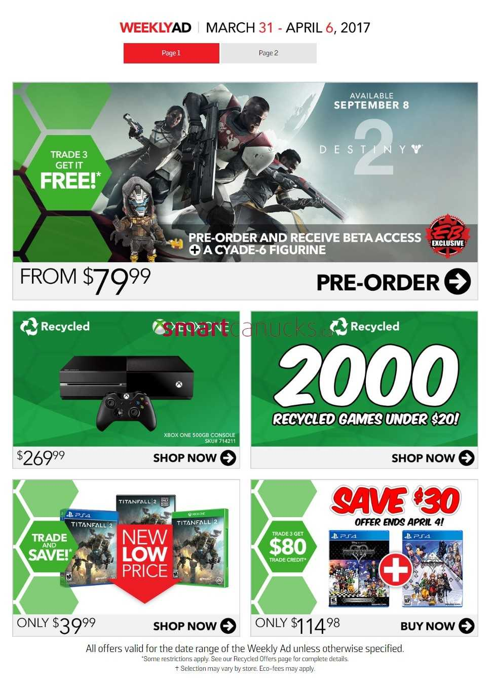 eb games flyers eb games flyer 31 to 6