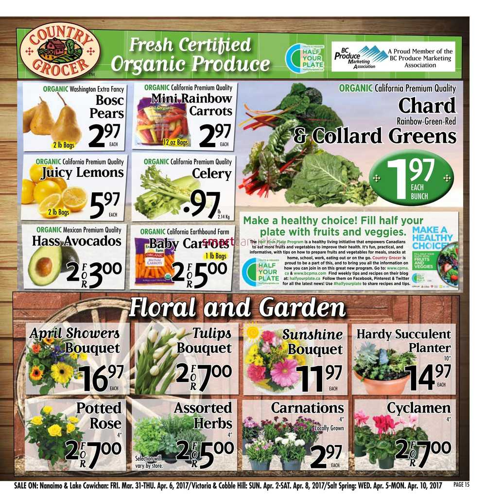 Country Grocer Flyer March 31 To April 6