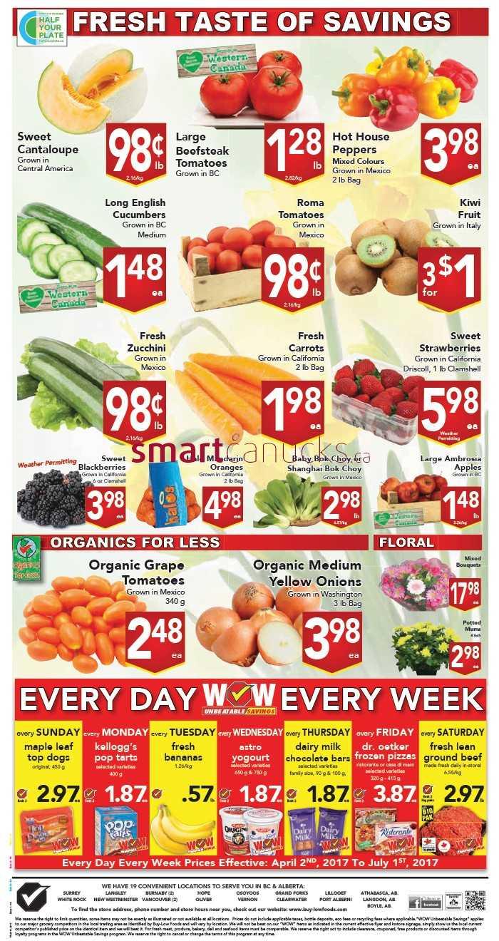 Buy Low Foods Flyer