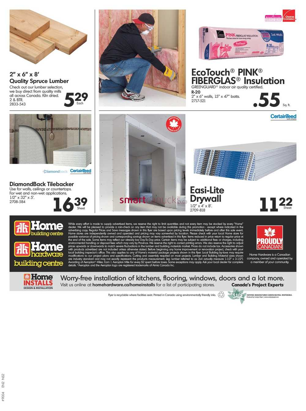 Home Hardware Building Centre Atlantic Flyer April 5 To 12
