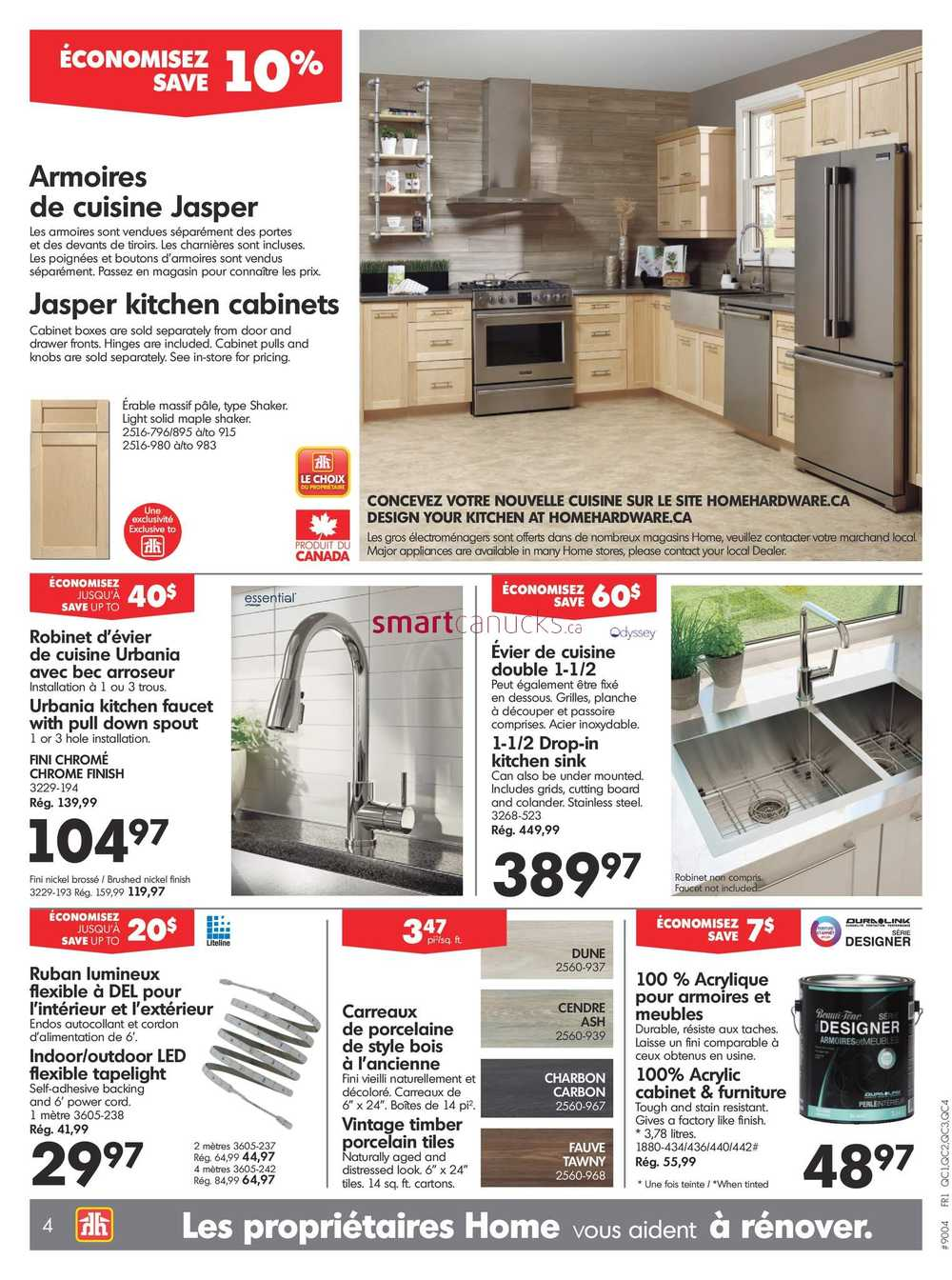 Home Hardware Building Centre Qc Flyer April 5 To 12