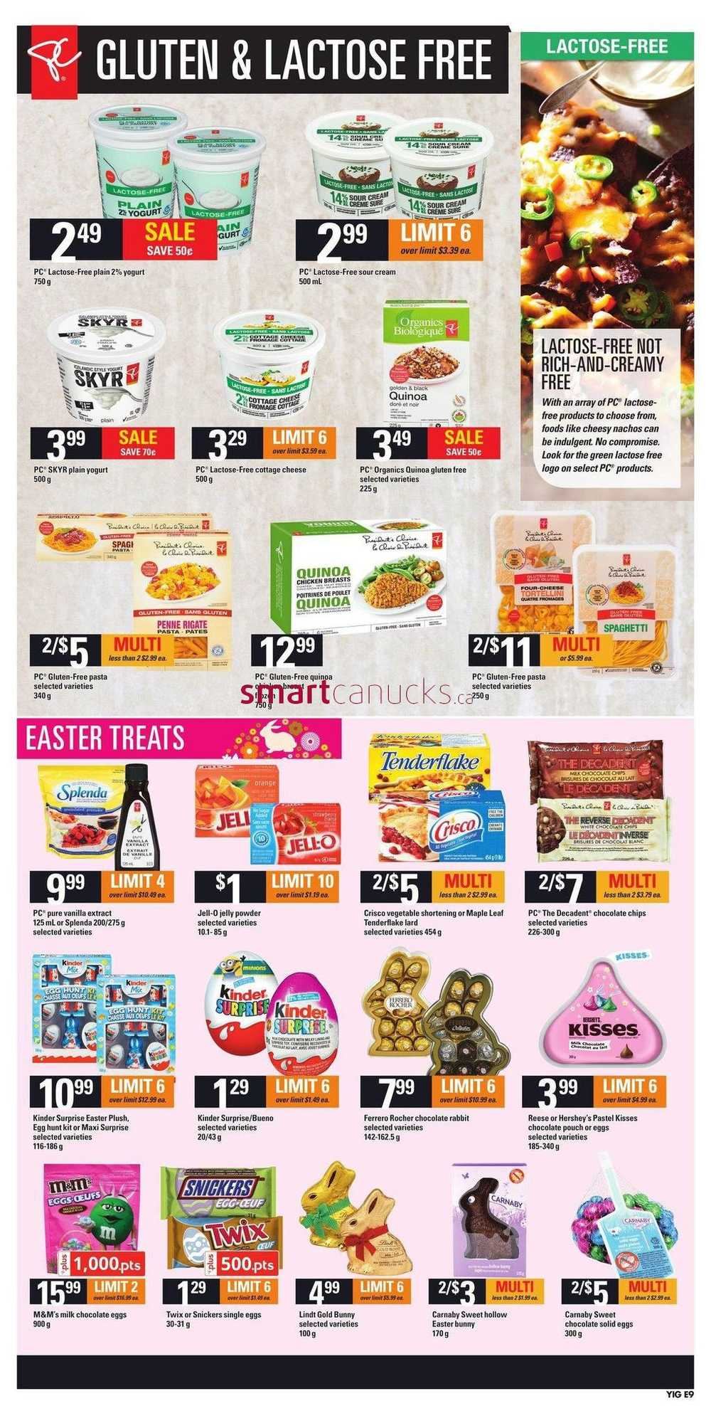 Independent Grocer On Flyer April 6 To 12