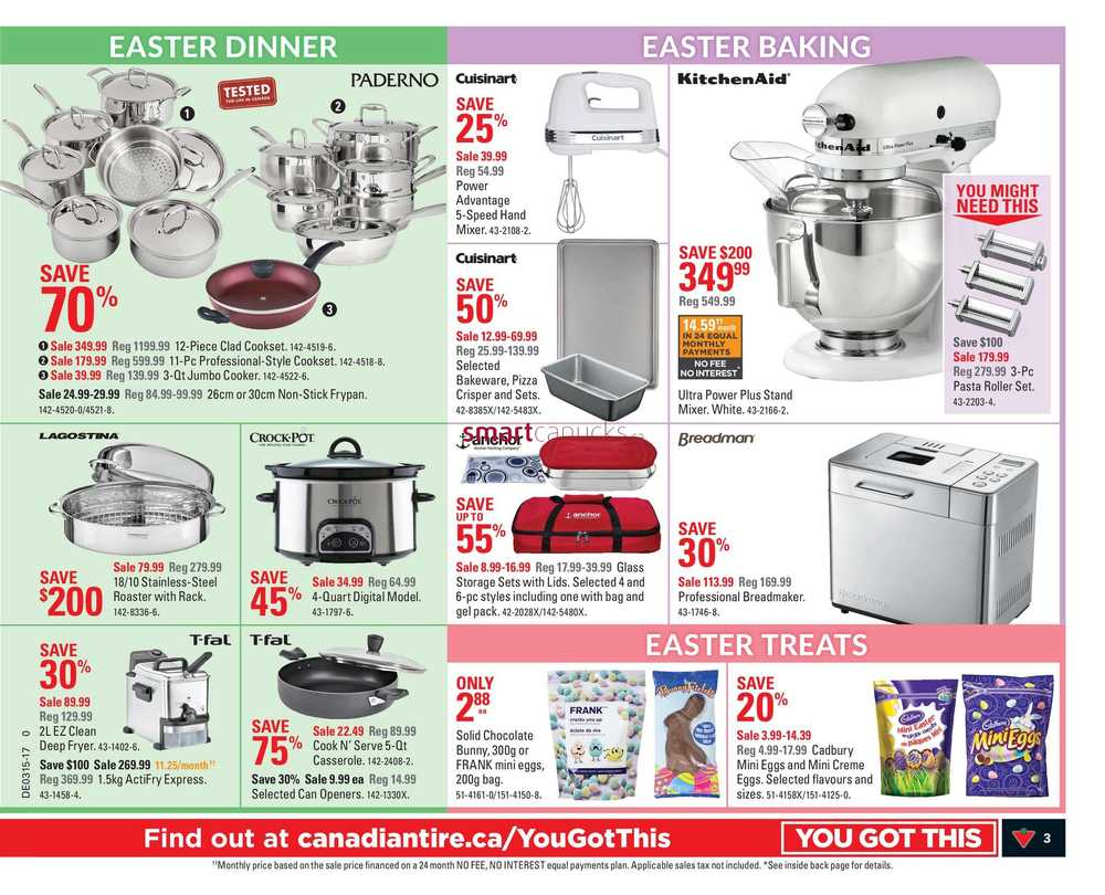 Uncategorized Canadian Tire Kitchen Appliances canadian tire west flyer april 7 to 13 view single