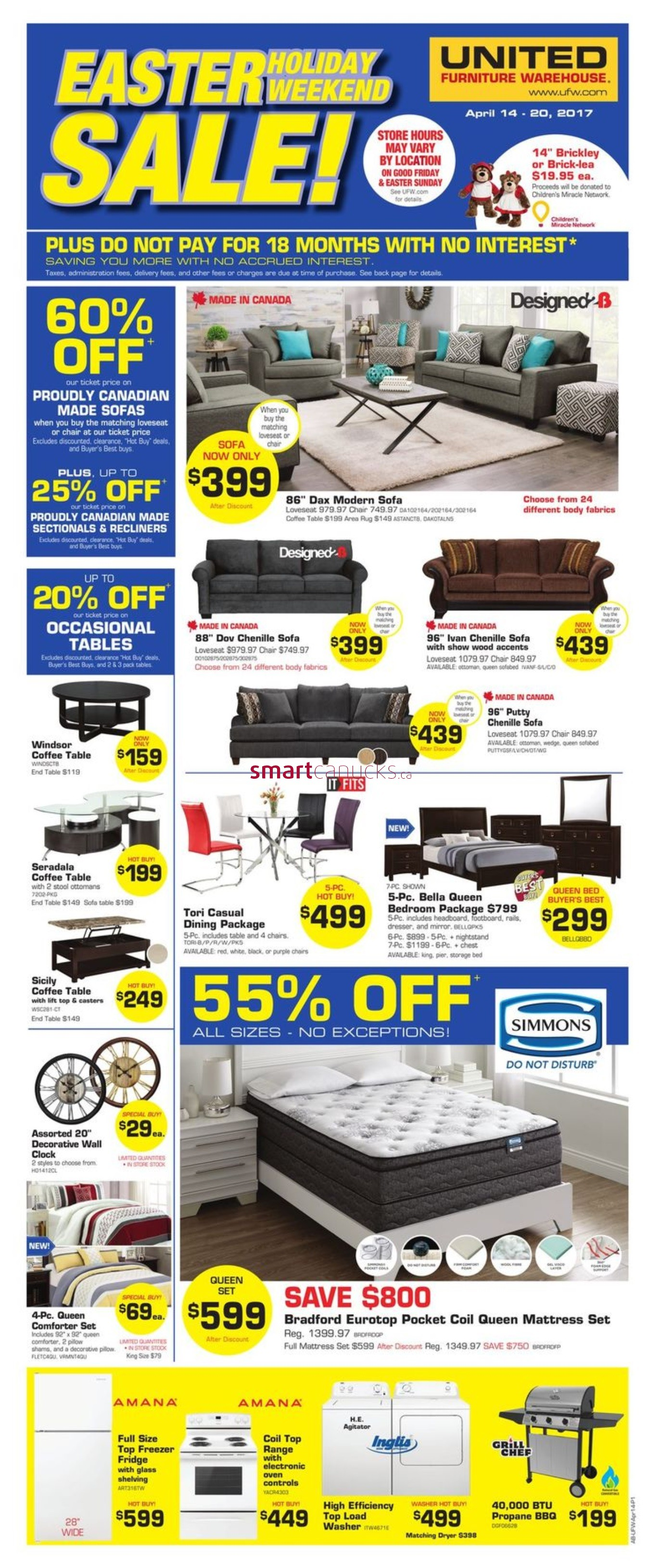 The Brick Furniture Kitchener United Furniture Warehouse Canada Flyers