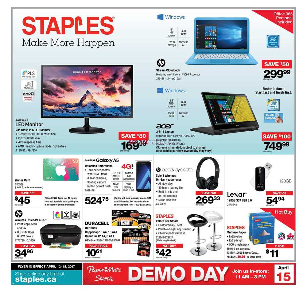 Find the best Staples coupons, promo codes and deals for December All coupons hand-verified and guaranteed to work. Exclusive offers and bonuses up to % back!