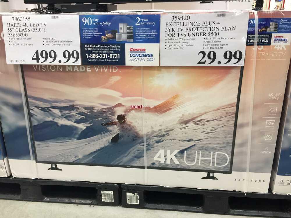 Tv costco sale