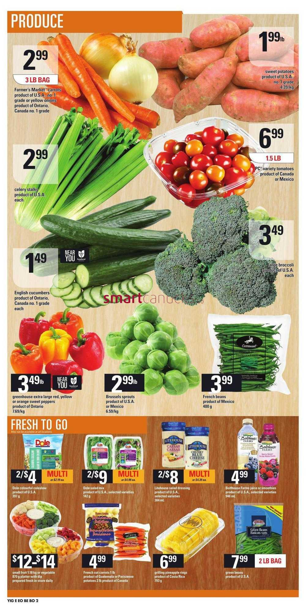 Independent Grocer On Flyer April 13 To 19