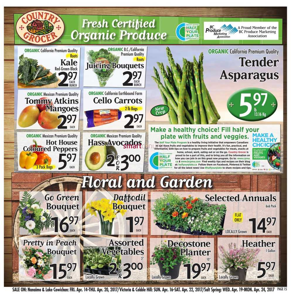 Country Grocer Flyer April 14 To 20