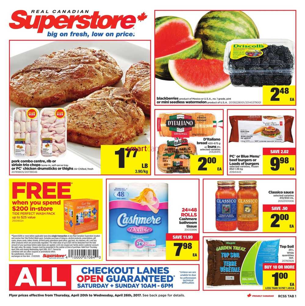 Real Canadian Superstore (ON) Flyer April 20 to 26