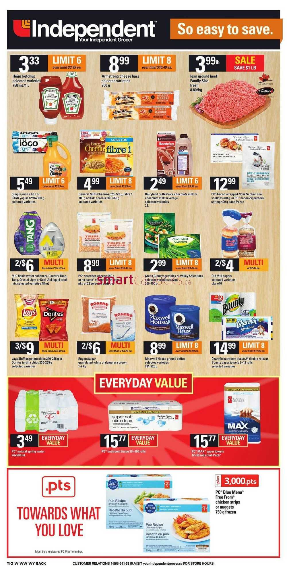 Independent Grocer West Flyer April 21 To 27