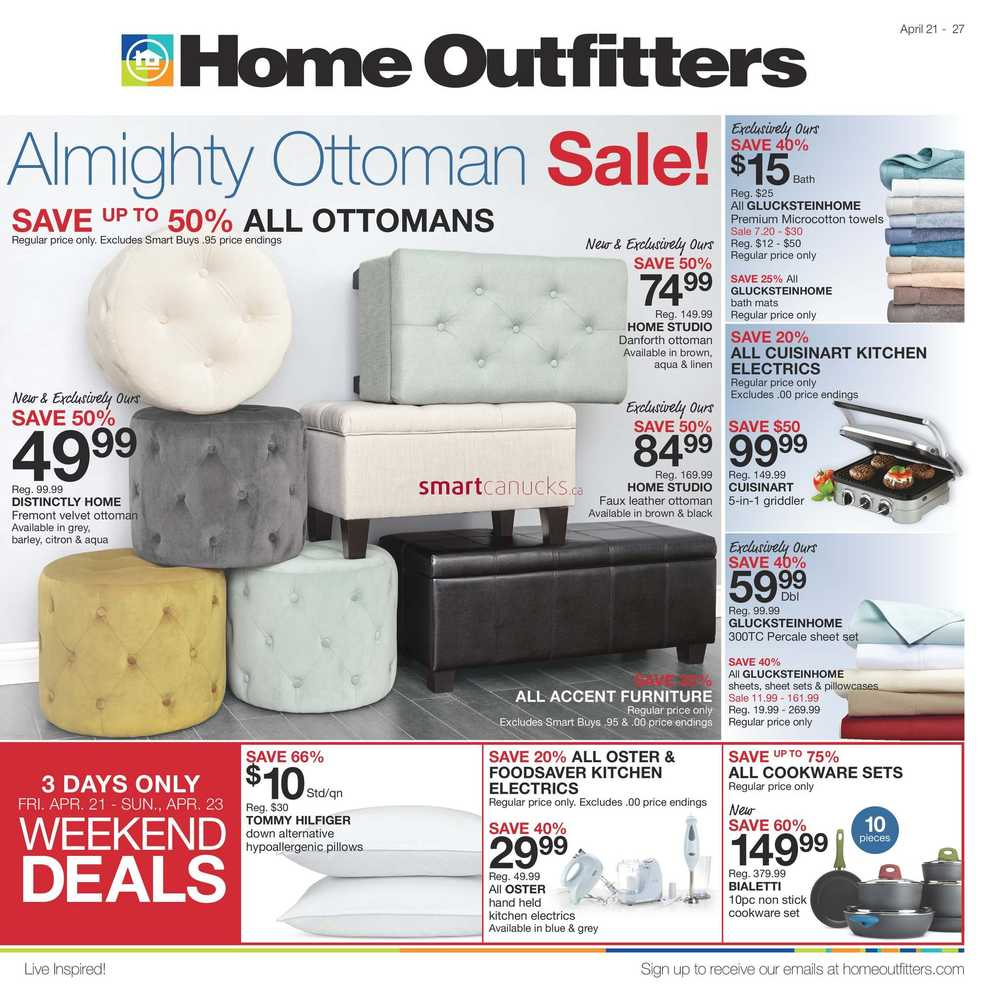 home outfitters flyers home outfitters flyer 21 to 27