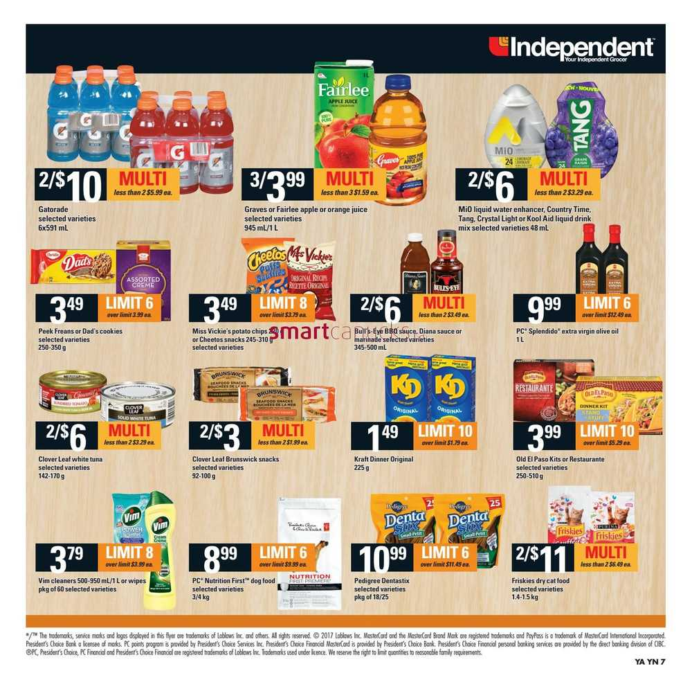 Independent Grocer Atlantic Flyer April 27 To May 3