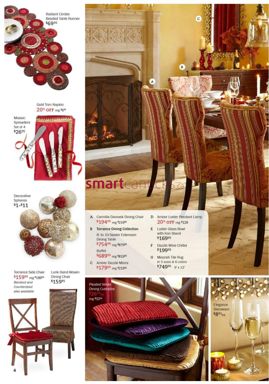 . Pier 1 Imports flyer November 4 to December 2