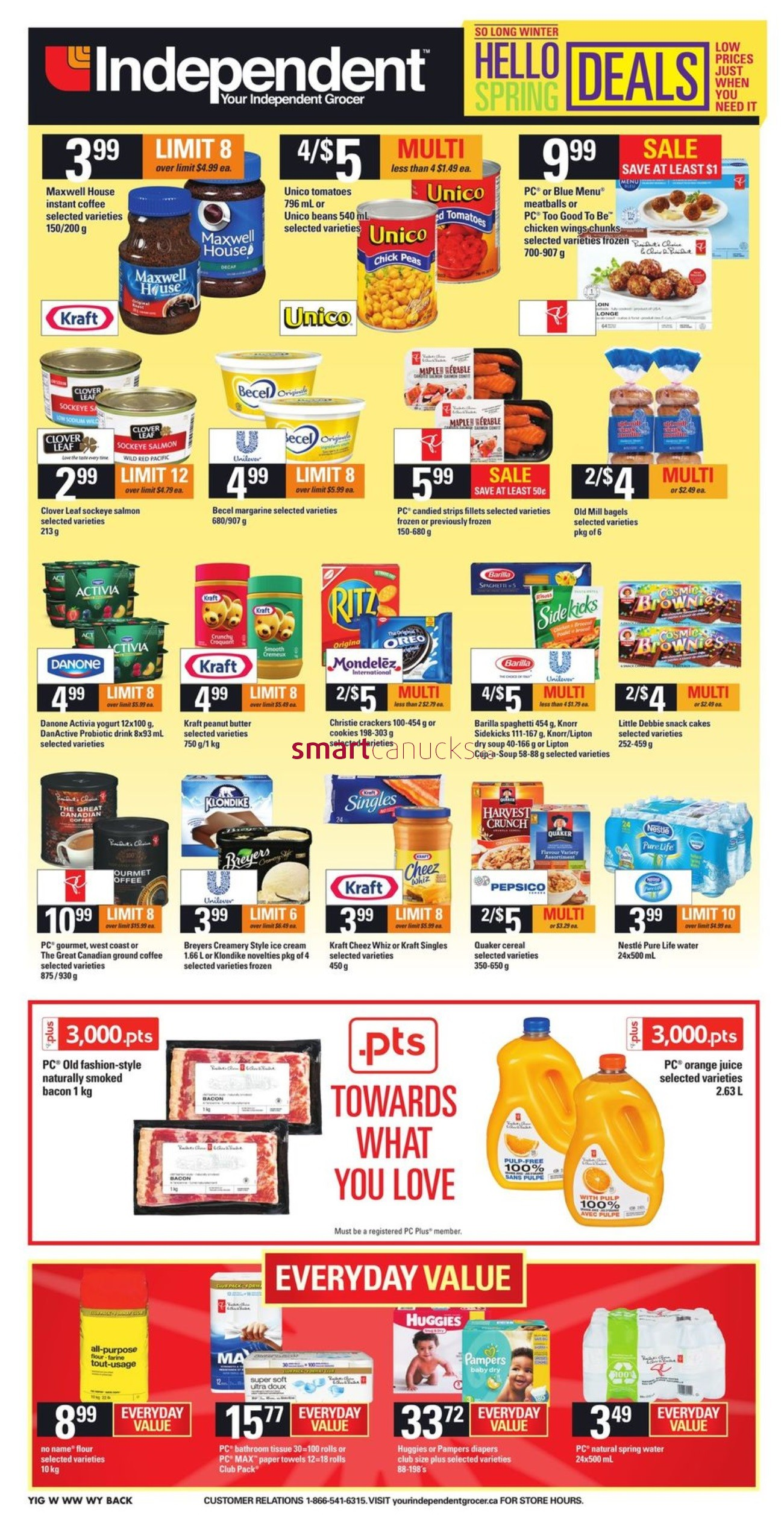 Independent Grocer West Flyer April 28 To May 4