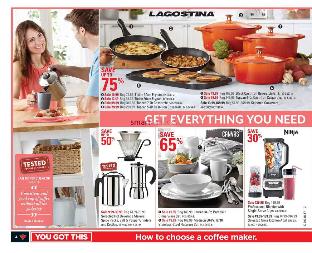 Uncategorized Canadian Tire Kitchen Appliances canadian tire west flyer april 28 to may 4 view single