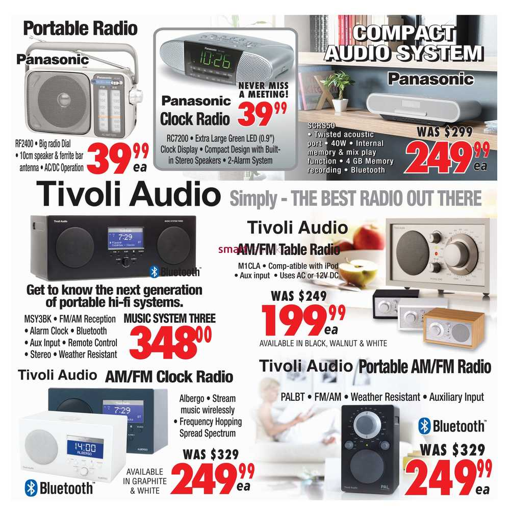 2001 Audio Video Flyer May 5 to 11