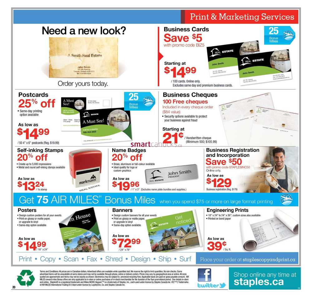 Staples Flyer May 10 To 16