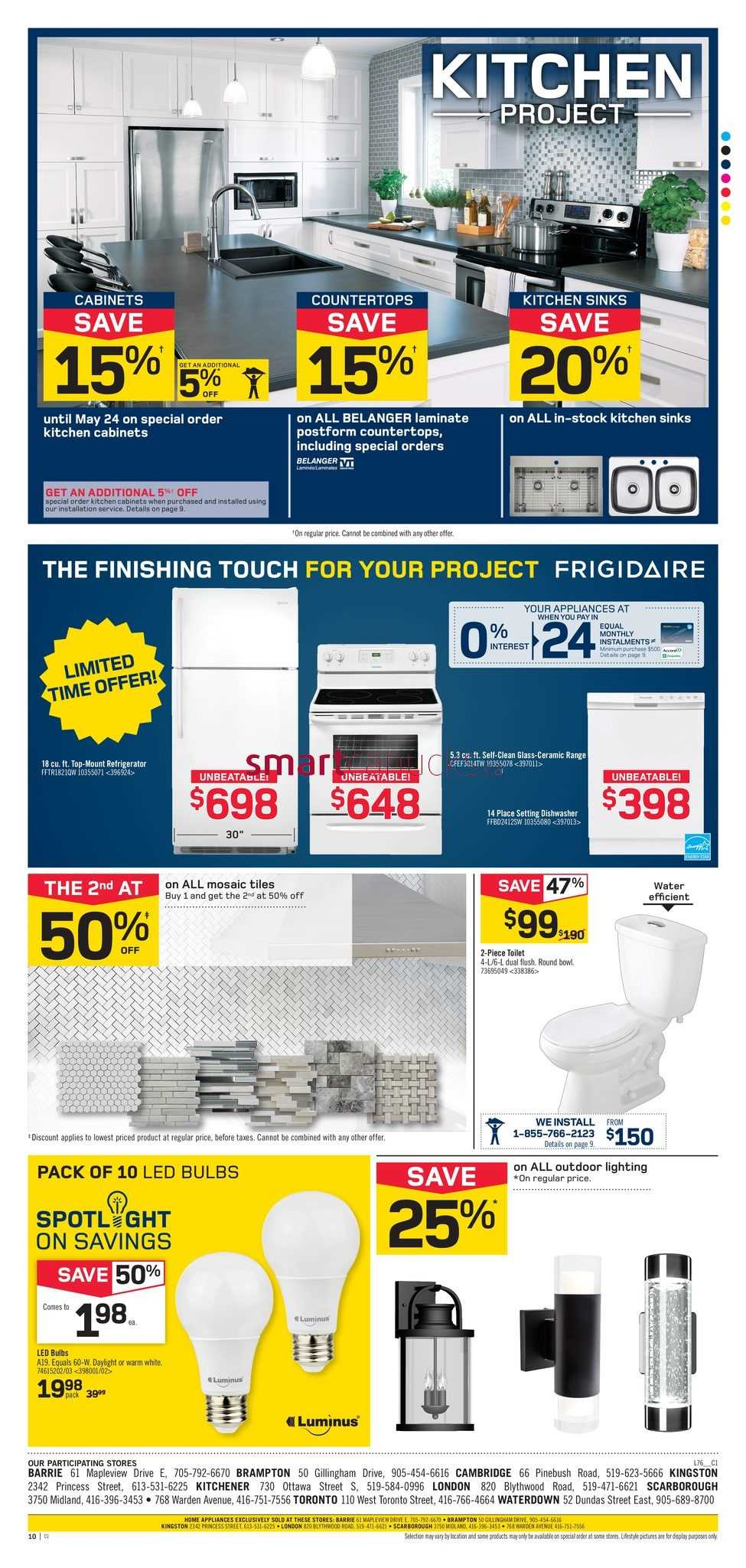 Rona Home & Garden (ON) Flyer May 11 to 17