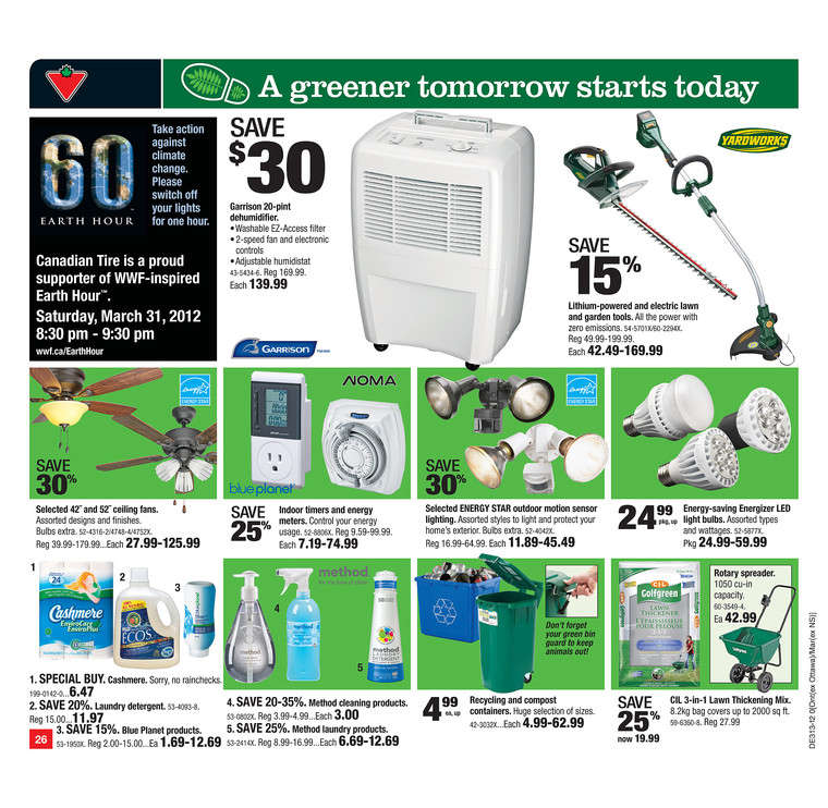 Canadian Tire Flyer Mar 23 To 29