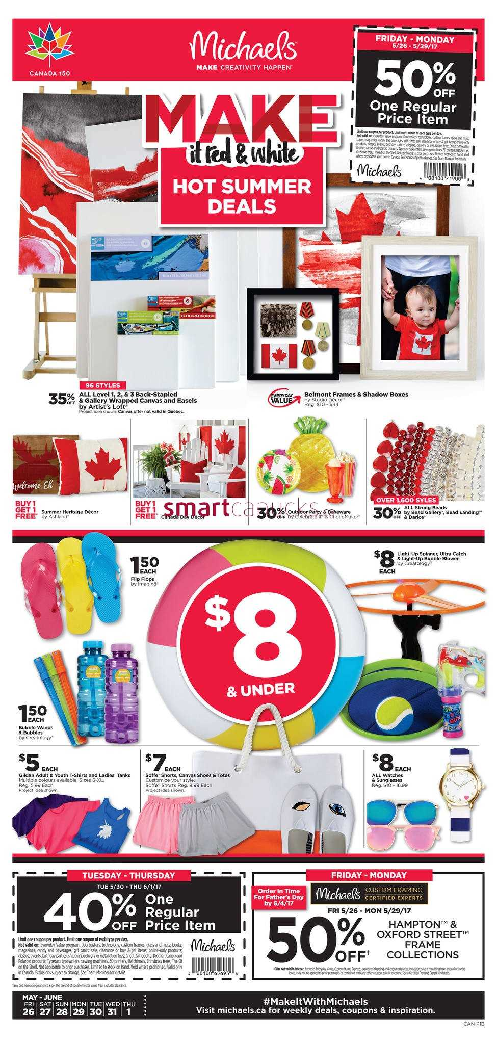 michaels arts and crafts coupons june